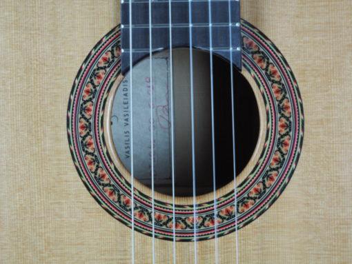 Double-table Guitare classique Luthier Vasilis Vasileiadis 18VAS018 - 08