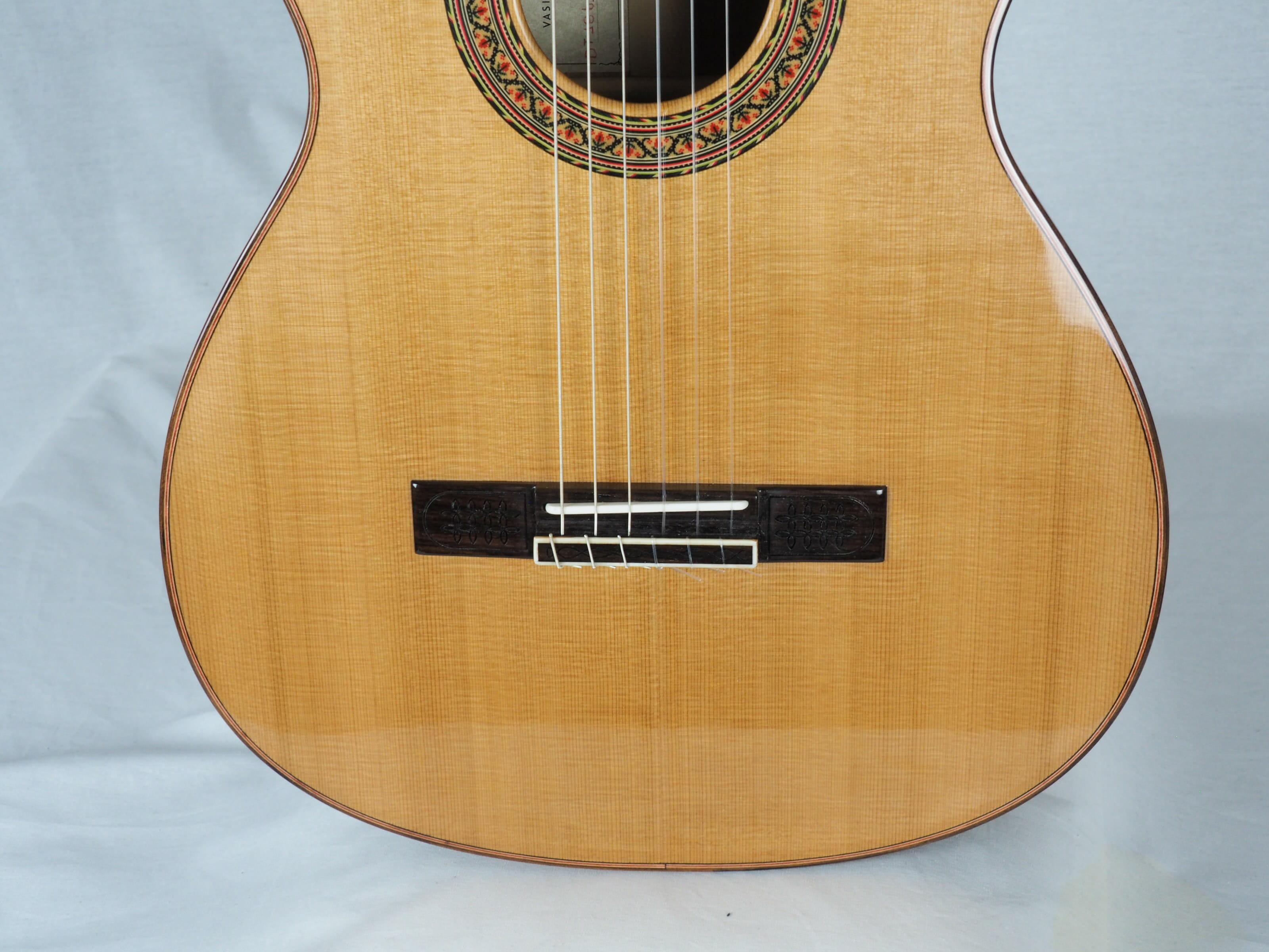 Double-table Guitare classique Luthier Vasilis Vasileiadis