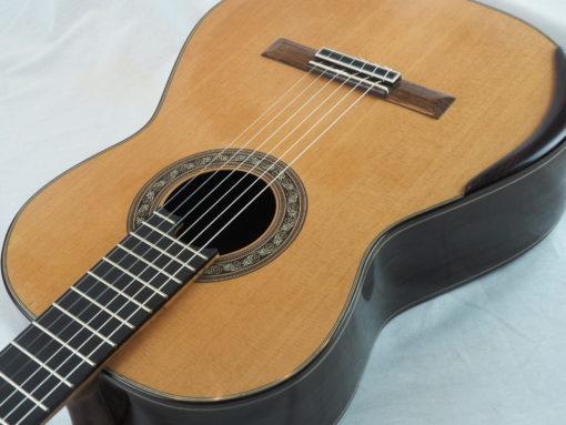 Charalampos Koumridis luthier www.guitare-classique-concert.fr No 138 19KOU138-02