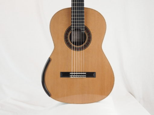 Luthier Martin Blackwell guitare classique double-table 157-01