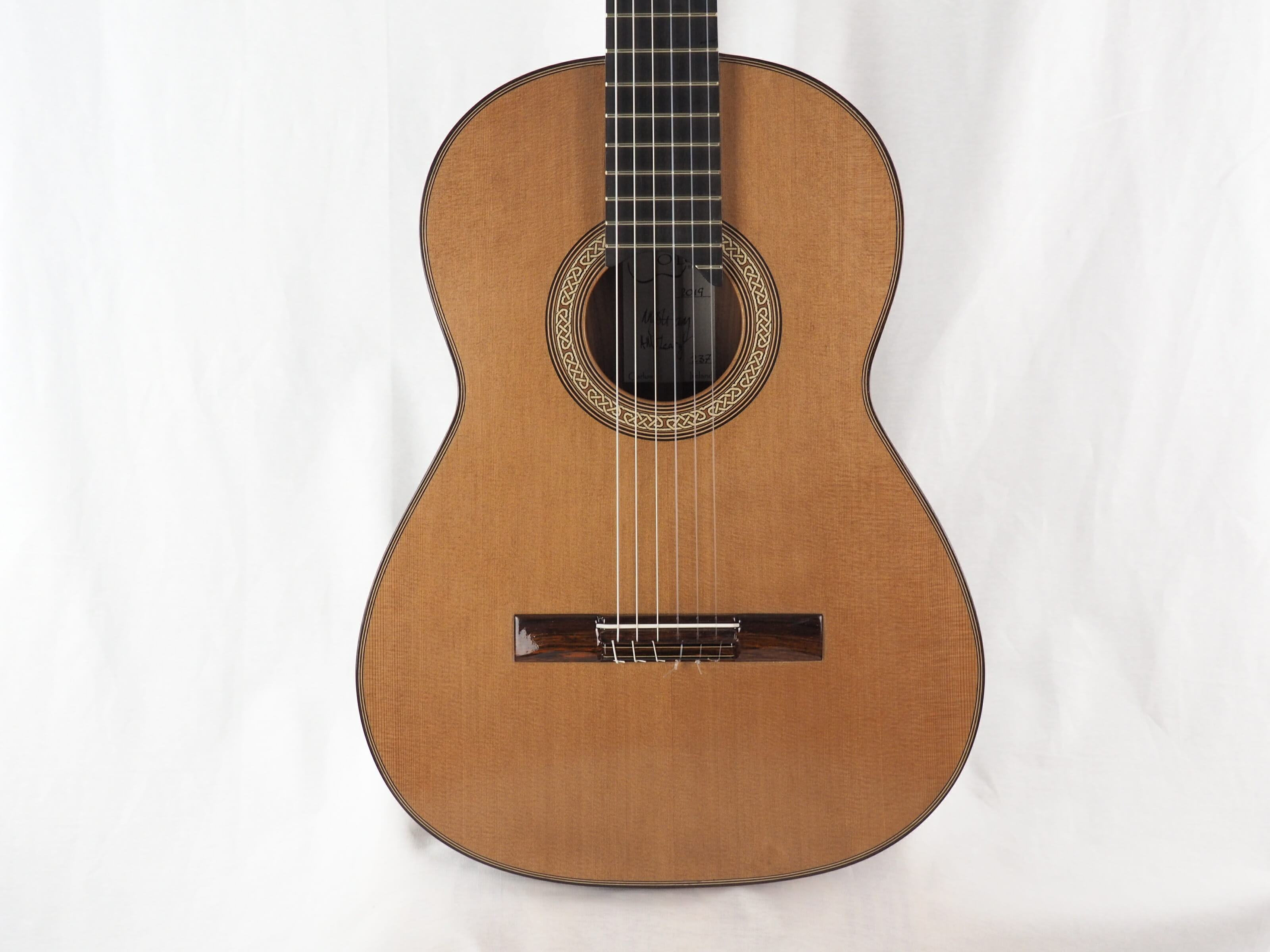 Michael O'Leary luthier guitare classique 19OLE237-12