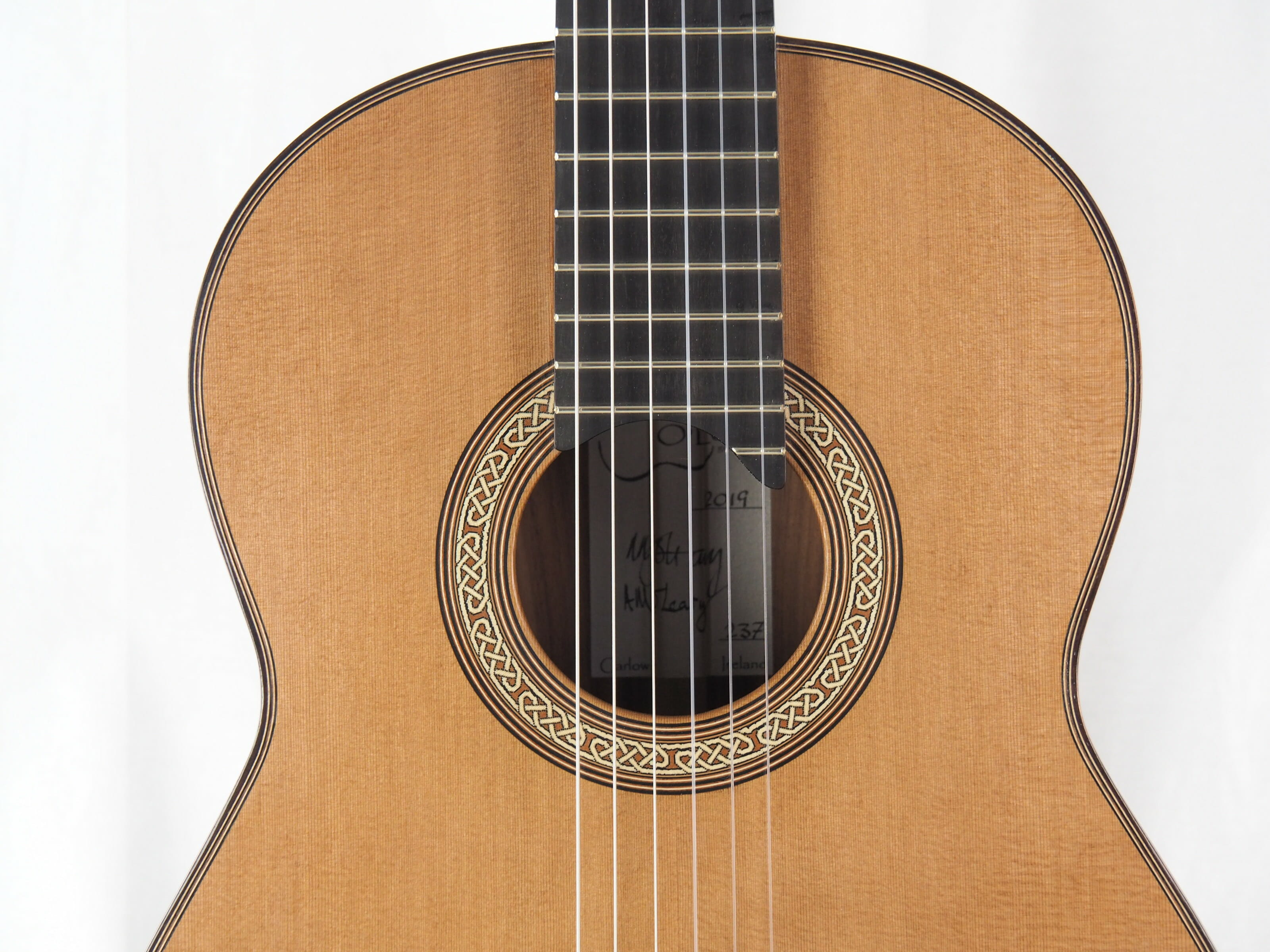 Michael O'Leary luthier guitare classique 19OLE237-11