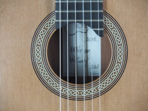 Michael O'Leary luthier guitare classique 19OLE237-10