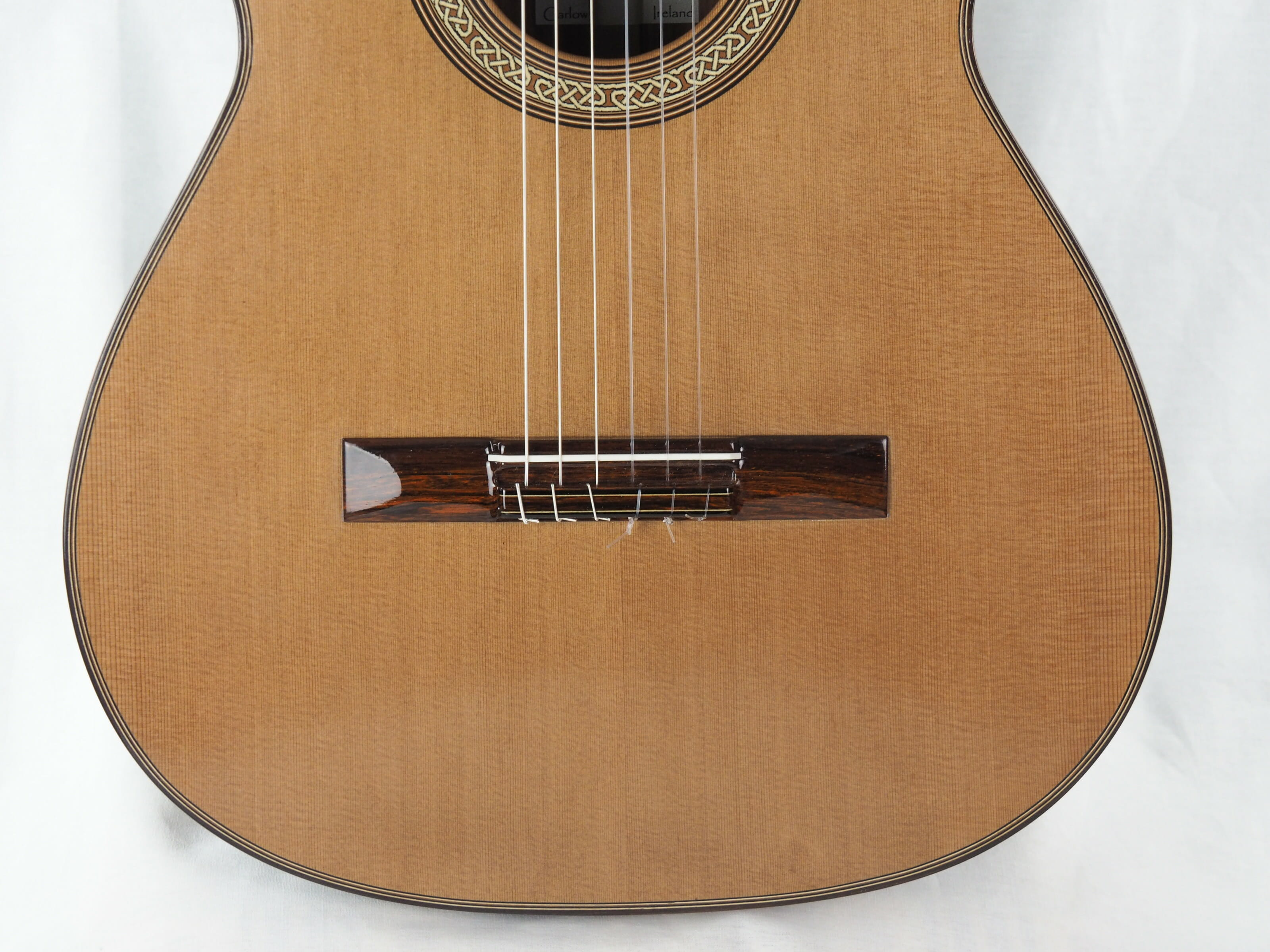 Michael O'Leary luthier guitare classique 19OLE237-09