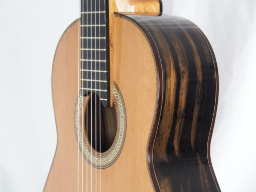 Michael O'Leary luthier guitare classique 19OLE237-07