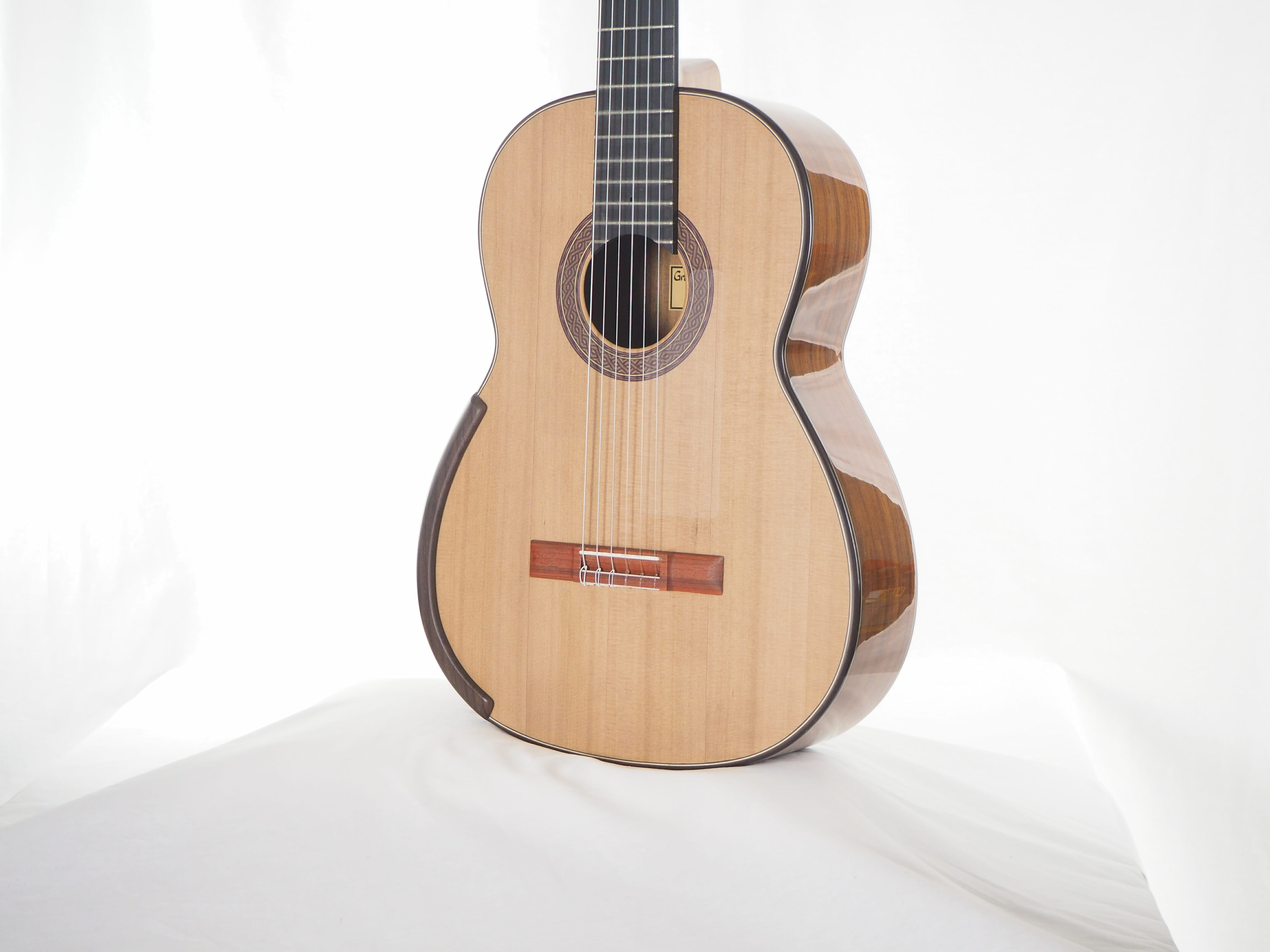 Greg Smallman & sons guitare classique de luthier lattice