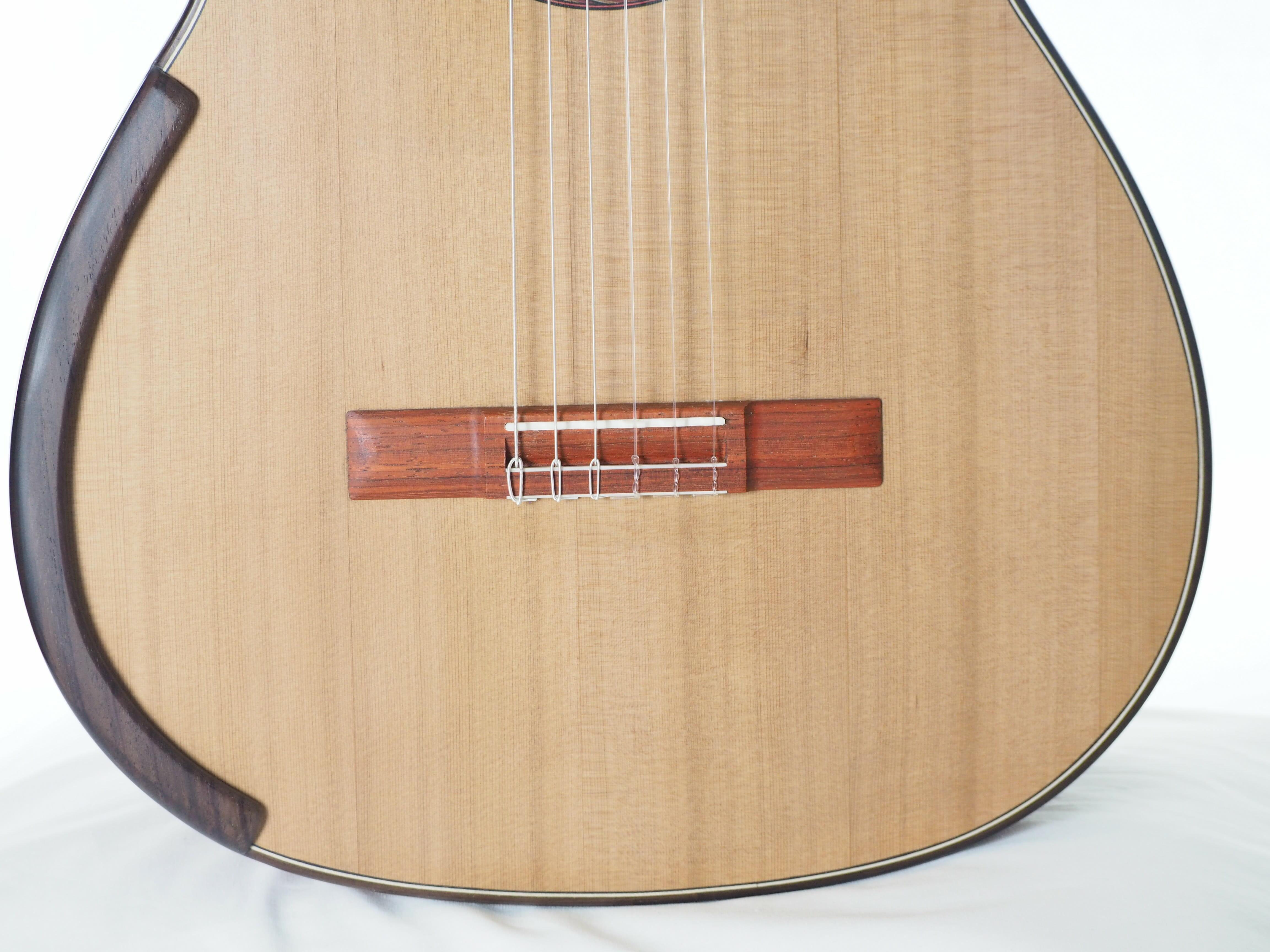 Greg Smallman & sons guitare classique de luthier barrage lattice