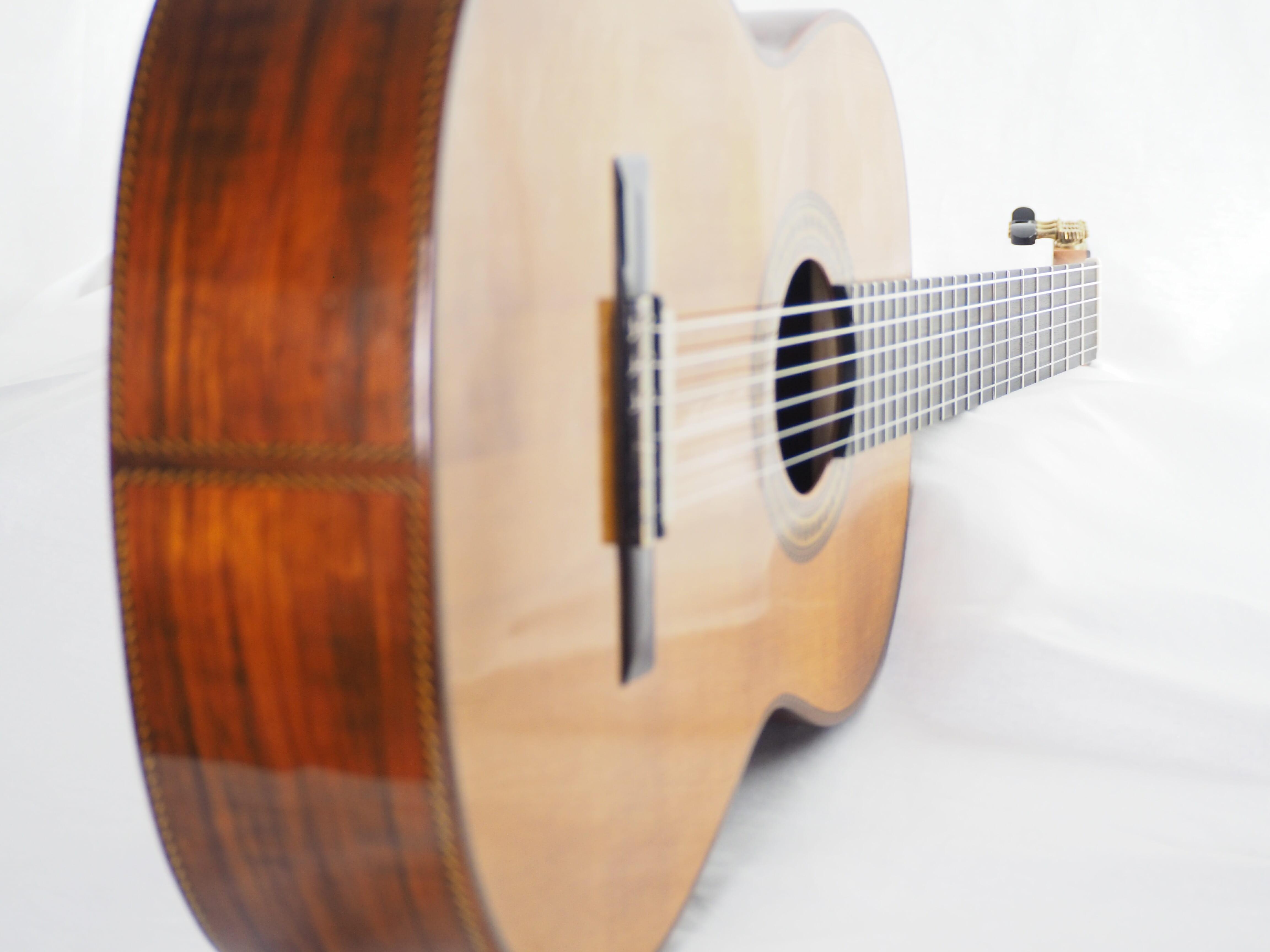 Dieter Hopf Portentosa evolucion 5045 guitare classique lattice luthier