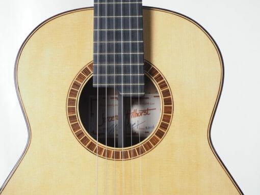guitare classique luthier Jeroen HILHORST 16HIL118 -06