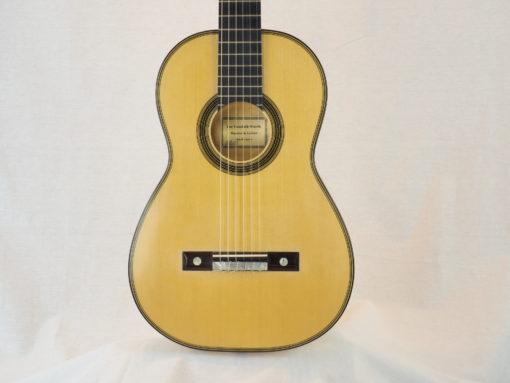 Guitare classique luthier Dominik Wurth copie Antonio Torres 19WUR016-02