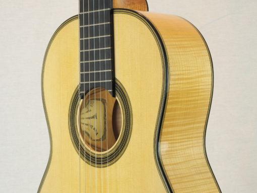 Guitare classique luthier Dominik Wurth copie Antonio Torres 19WUR016-08