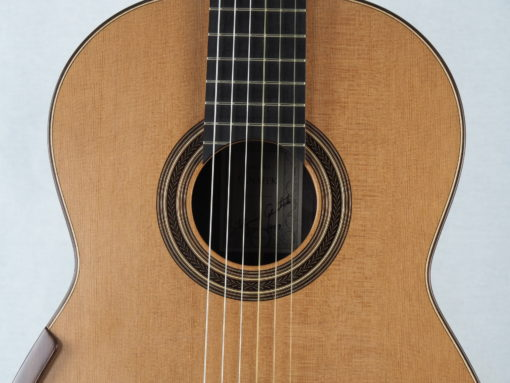 Luthier Zbigniew Gnatek guitare classique 2019-10