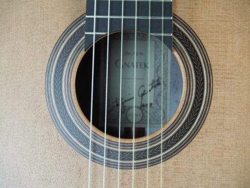 Luthier Zbigniew Gnatek guitare classique 2019-09