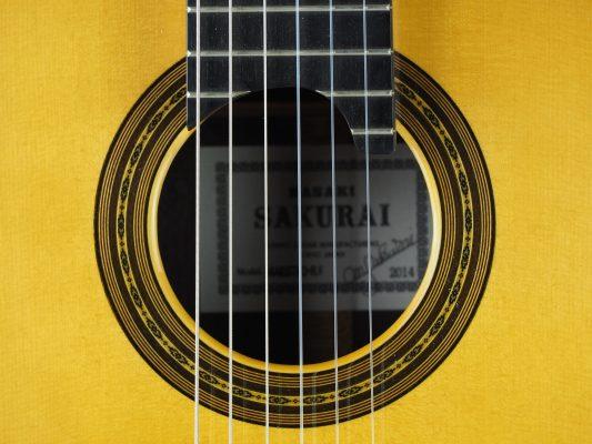 Masaki Sakurai Maestro-RF guitare classique luthier