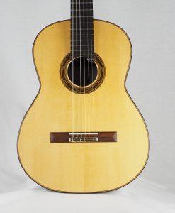 Gregory Byers lattice guitare classique luthier