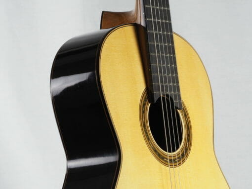 Gregory Byers guitare classique barrage lattice épicéa luthier