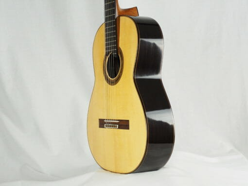 Gregory Byers guitare classique barrage luthier lattice épicéa
