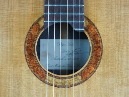 Guitare classique luthier Régis Sala Australe n°31 217SAL013-05