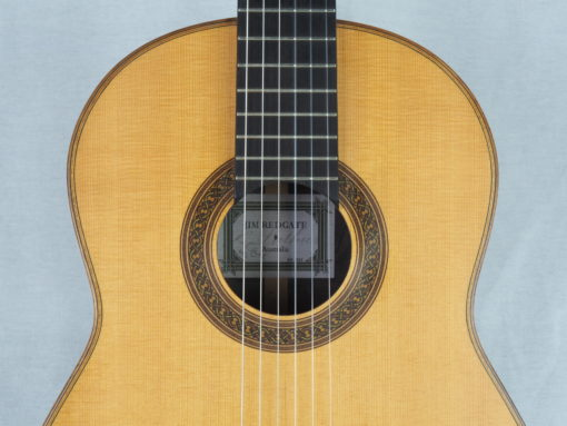Jim Redagte guitare classique luthier No 19RED352-09