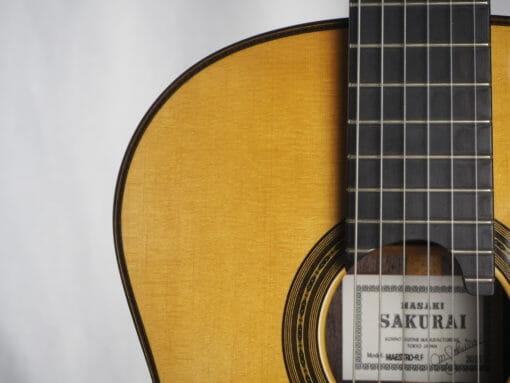 Luthier Masaki Sakurai guitare classique Maestro-RF 2015 épicéa - 17SAK015-02