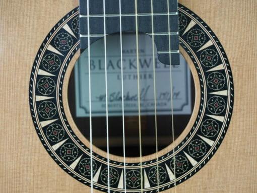 Martin Blackwell n°141 17BLA141-05 guitare classique de luthier double-table