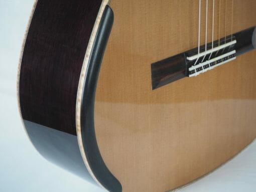 Martin Blackwell n°141 17BLA141-03 guitare classique de luthier double-table