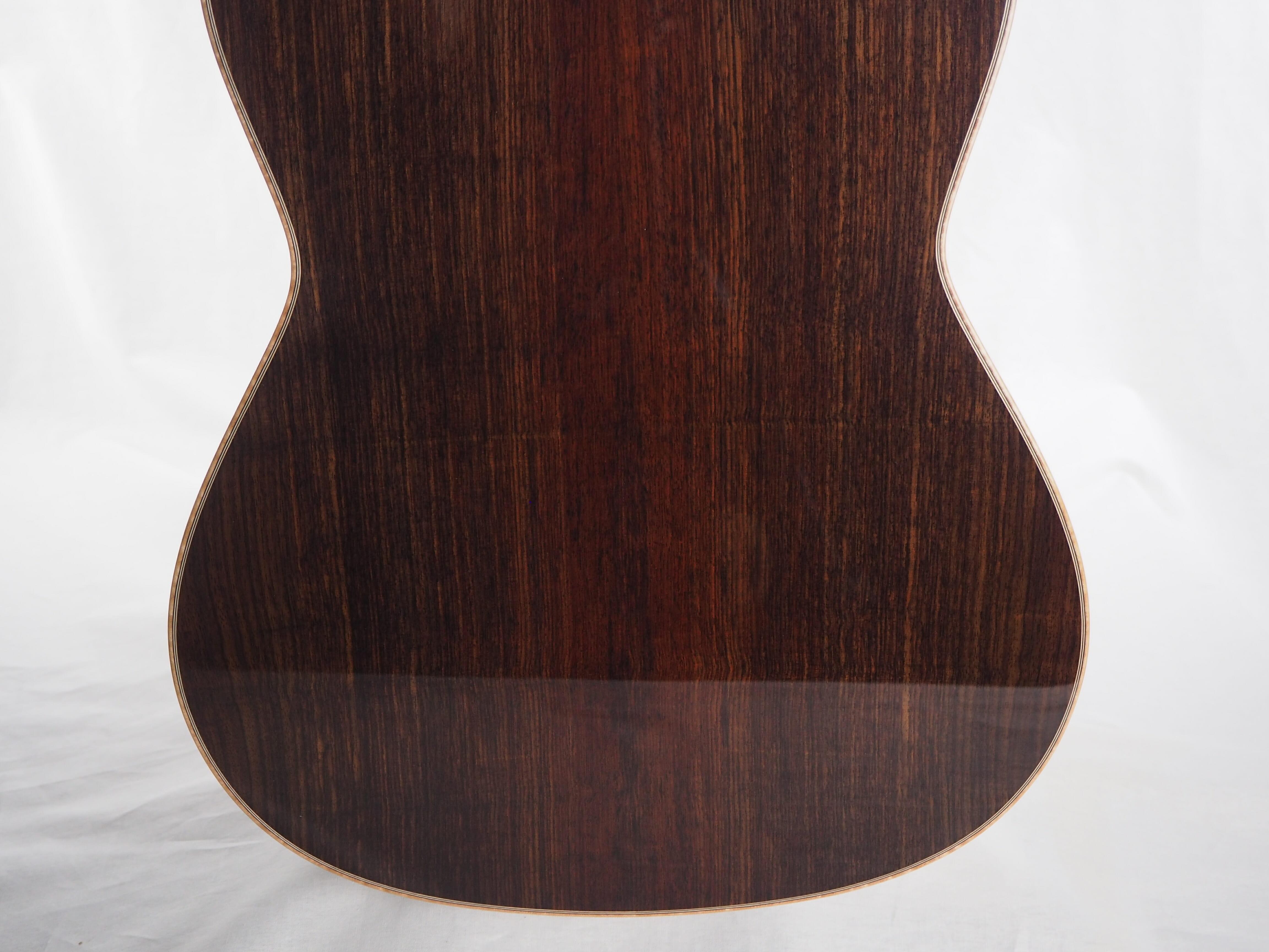 Martin Blackwell n°141 2017-01 – guitare classique de luthier double-table