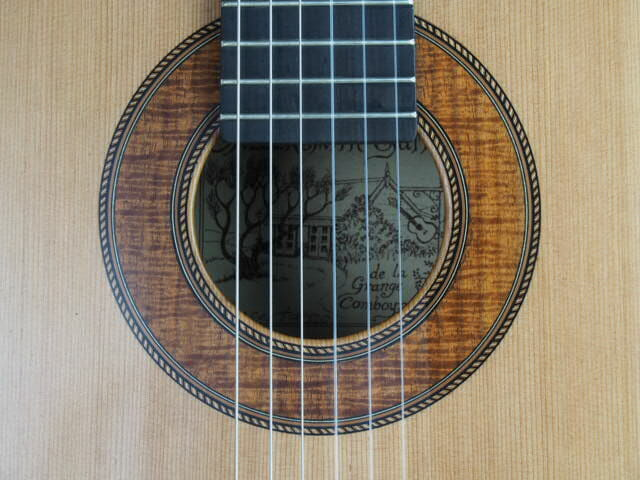 Graham Caldersmith luthier guitare classique modèle concert 18CAL110-07