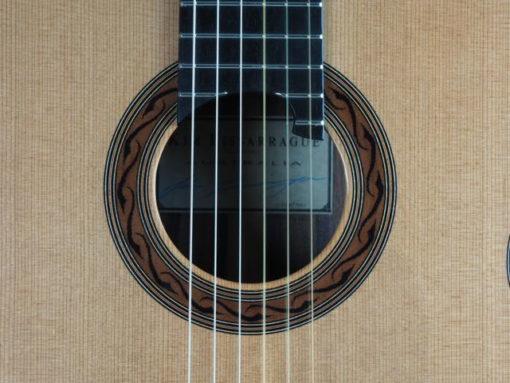 Kim Lissarrague luthier guitare classique n°301 18LIS301-07