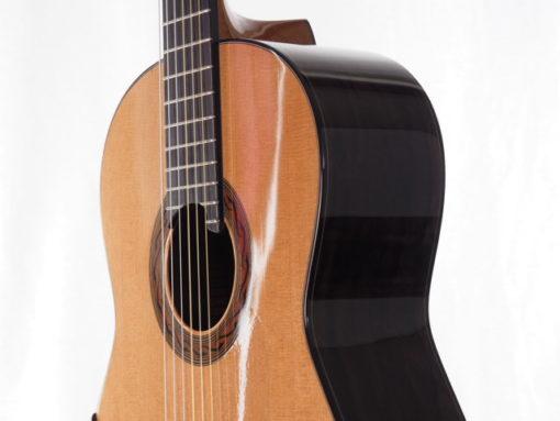 Kim Lissarrague luthier guitare classique n°301 18LIS301-03 guitare à vendre