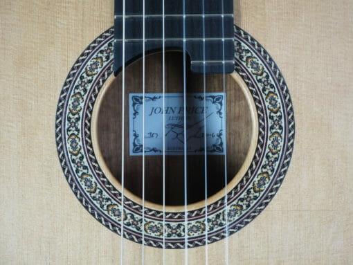 John Price luthier guitare classique lattice