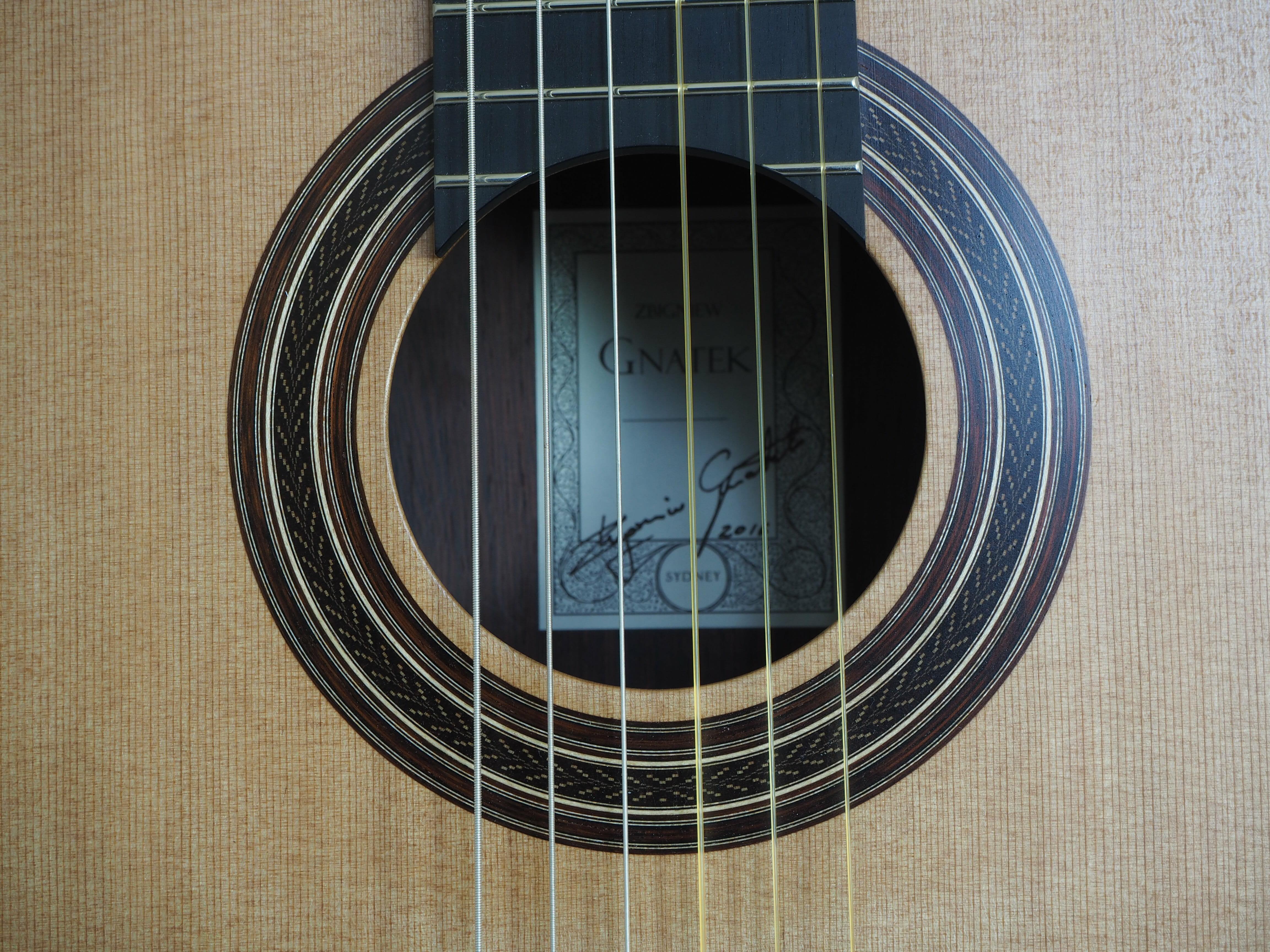 Zibgniew Gnatek guitare classique luthier