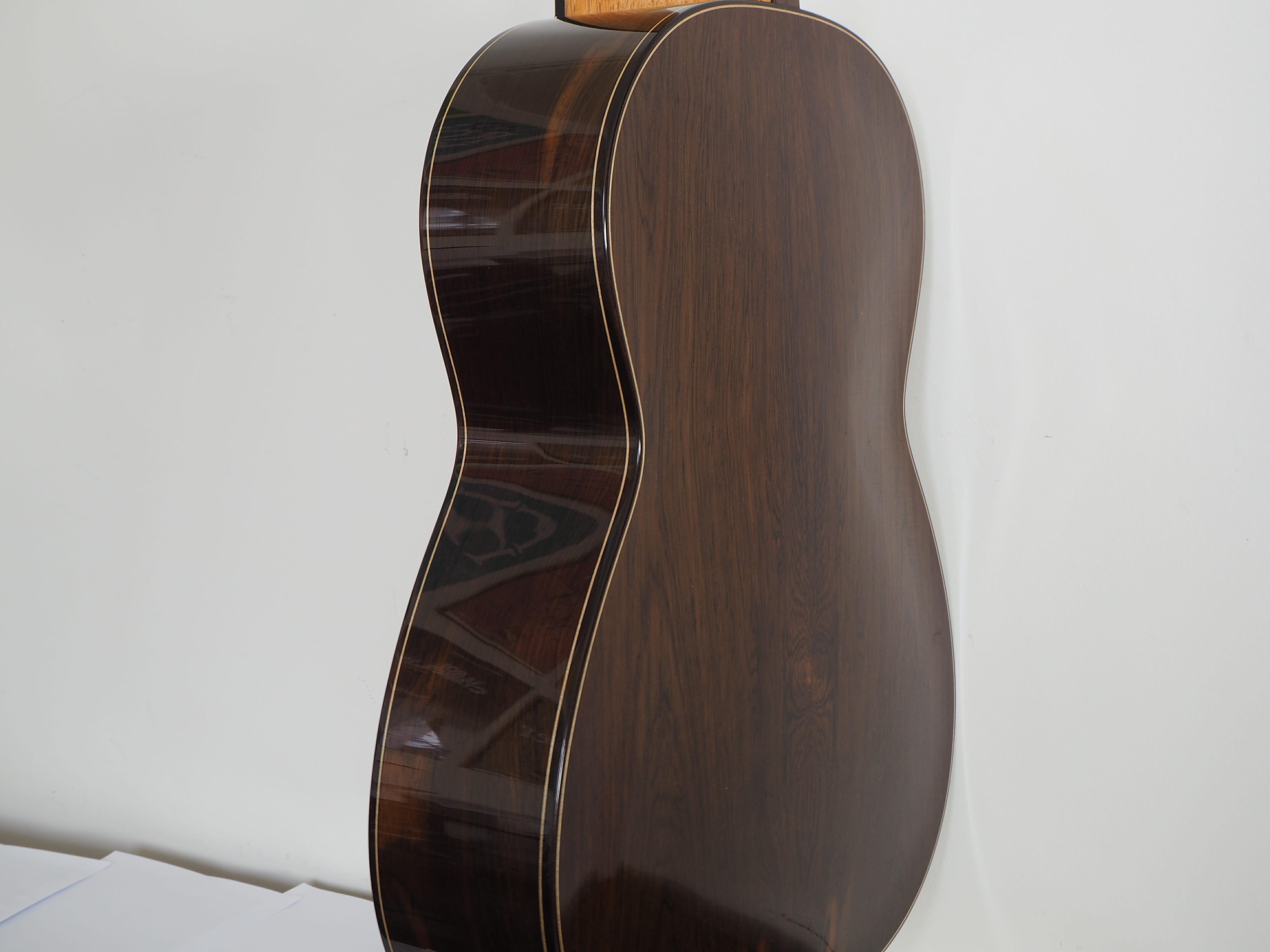 Zibgniew Gnatek luthier guitare classique lattice