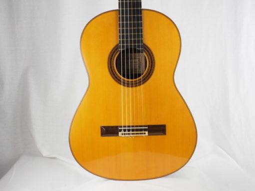 Daniel Friederich luthier guitare classique n° 266 18FRI266-12