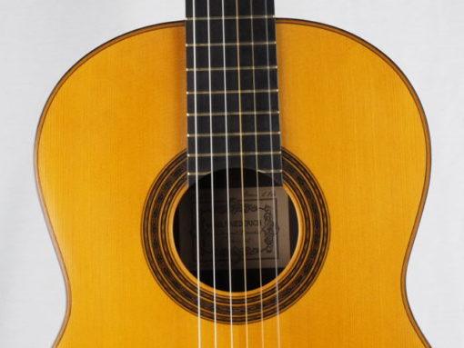 Daniel Friederich luthier guitare classique n° 266 rosace 18FRI266-11