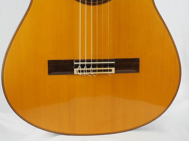 Daniel Friederich luthier guitare classique n° 266 table en épicéa 18FRI266-09