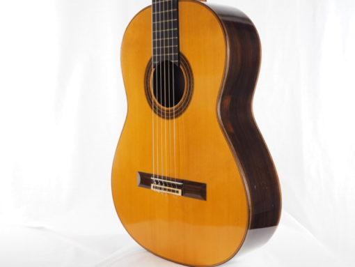 Daniel Friederich luthier guitare classique n° 266 table en épicéa 18FRI266-08