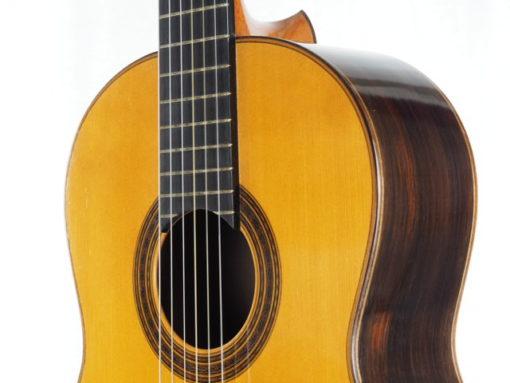 Daniel Friederich luthier guitare classique n° 266 table en épicéa 18FRI266-07