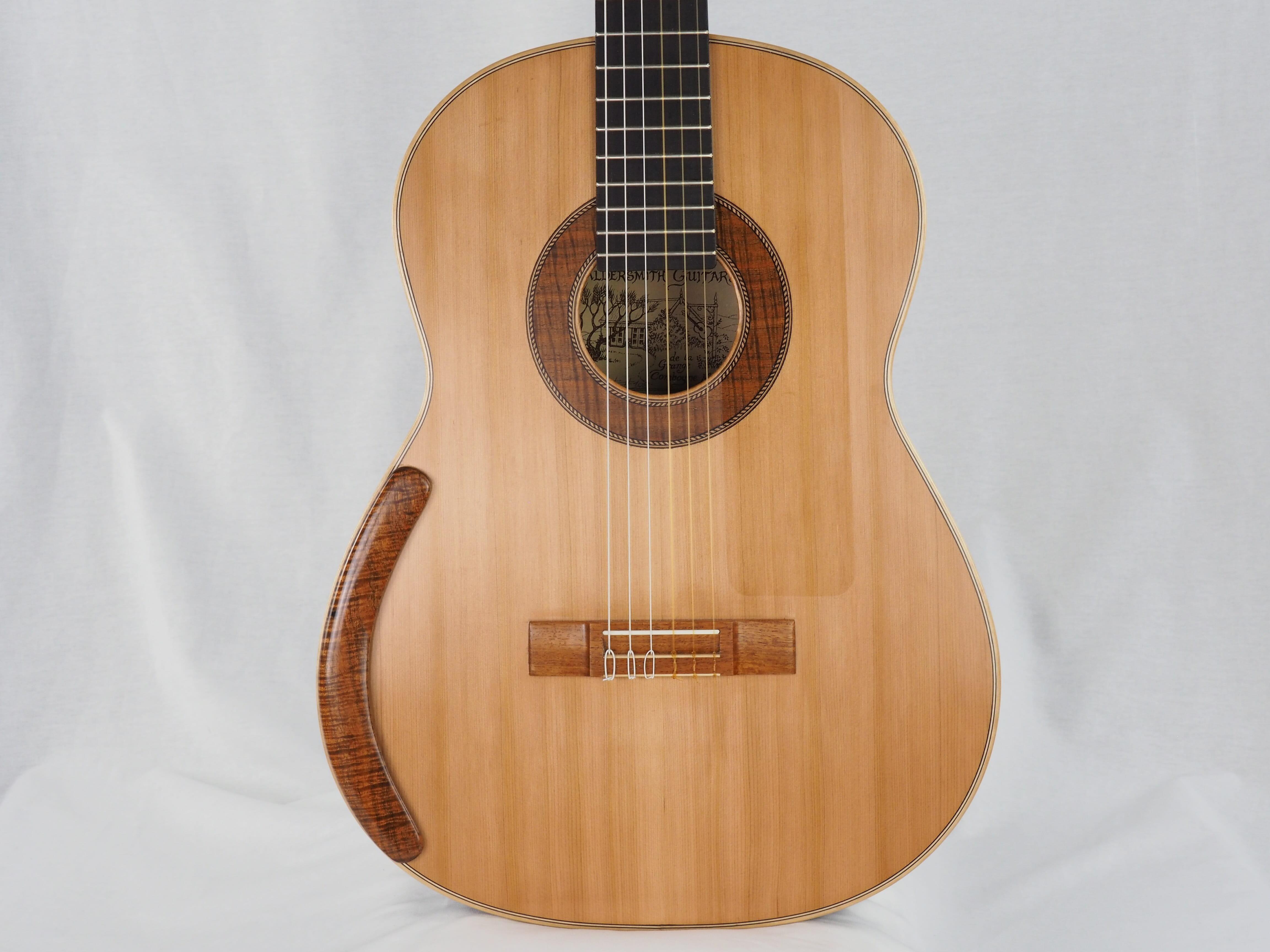 luthier graham caldersmith n 108 concert australie guitare classique de concert. Black Bedroom Furniture Sets. Home Design Ideas
