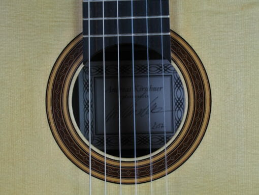 Luthier Andreas Kirschner guitare classique 17KIR017-10