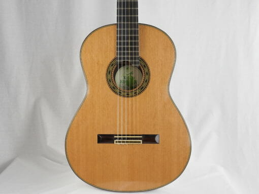 Luthier Keijo Korelin guitare classique double-table 17KOR093-01