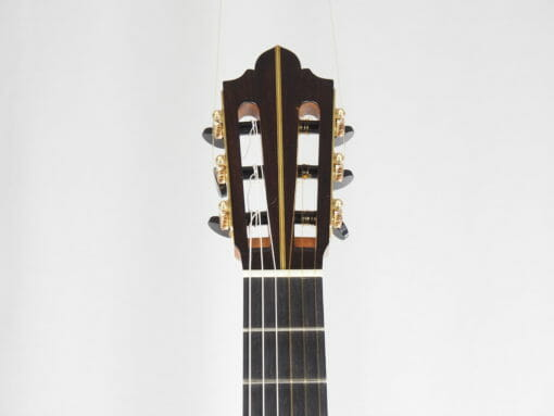 Luthier Keijo Korelin guitare classique double-table 17KOR093-03
