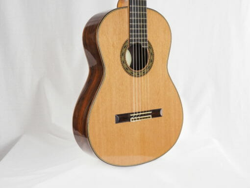 Luthier Keijo Korelin guitare classique double-table 17KOR093-05
