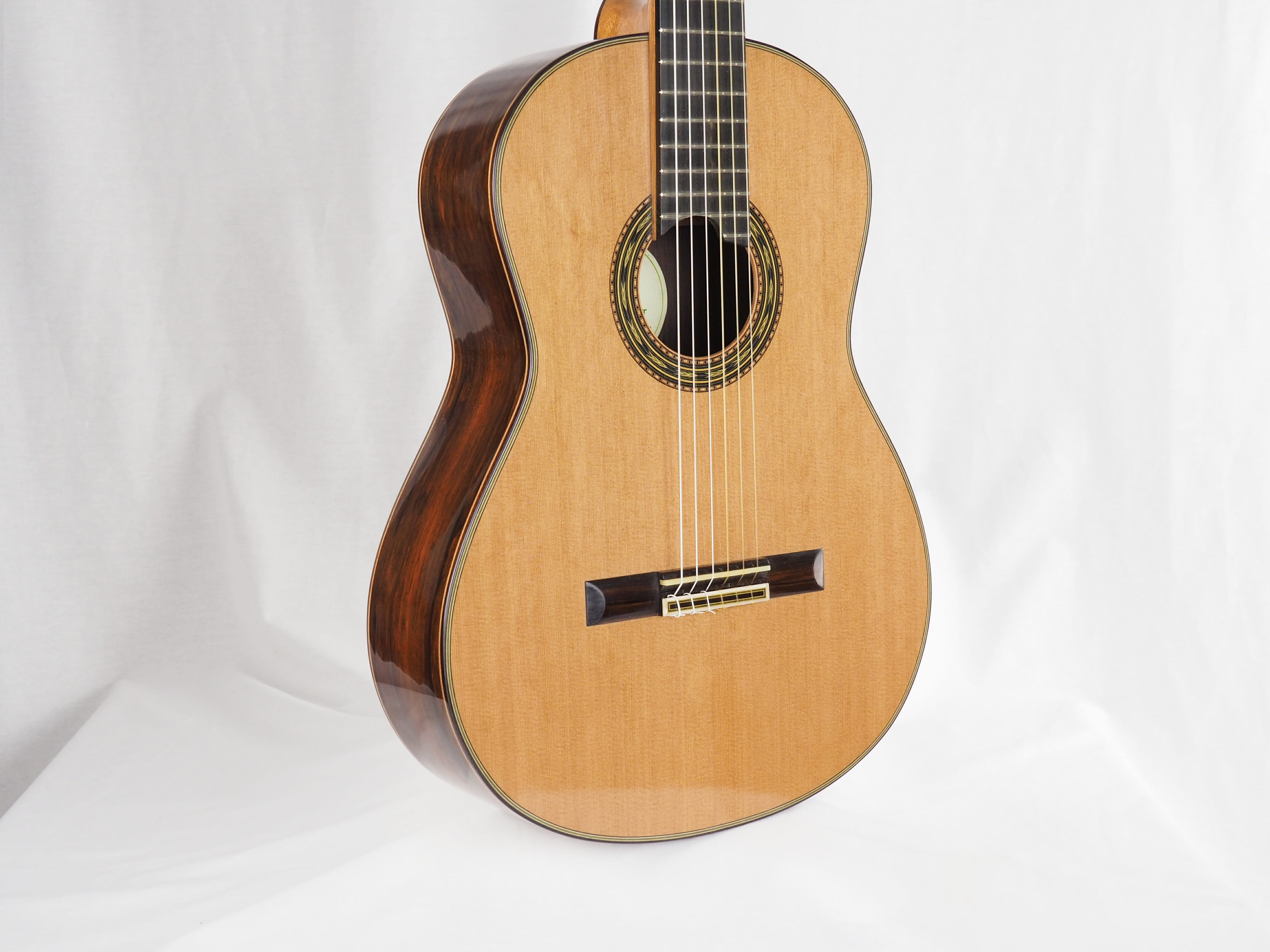 Luthier Keijo Korelin guitare classique double-table 17KOR093-05