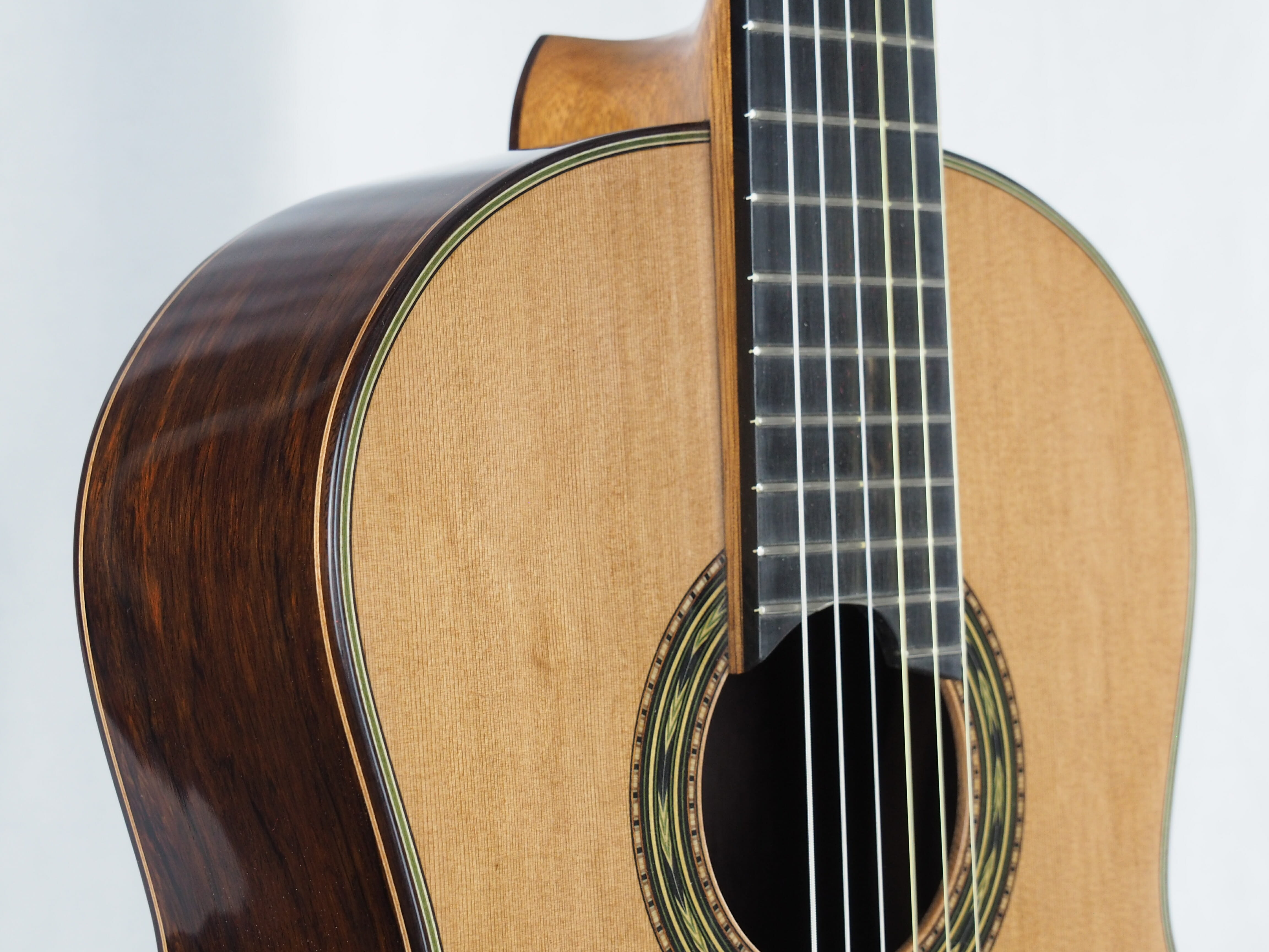 Luthier Keijo Korelin guitare classique double-table 17KOR093-06
