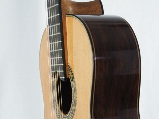 Luthier Keijo Korelin guitare classique double-table 17KOR093-08