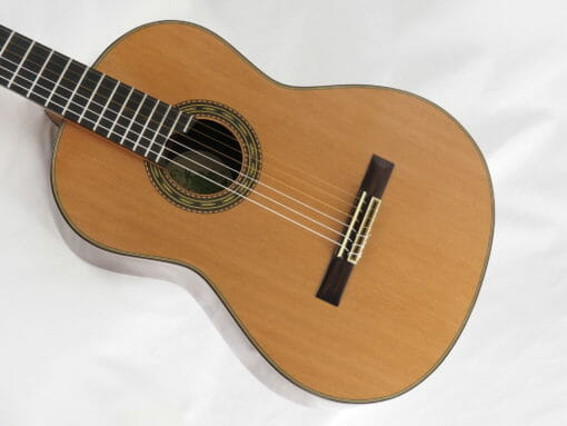 Luthier Keijo Korelin guitare classique double-table 17KOR093-11