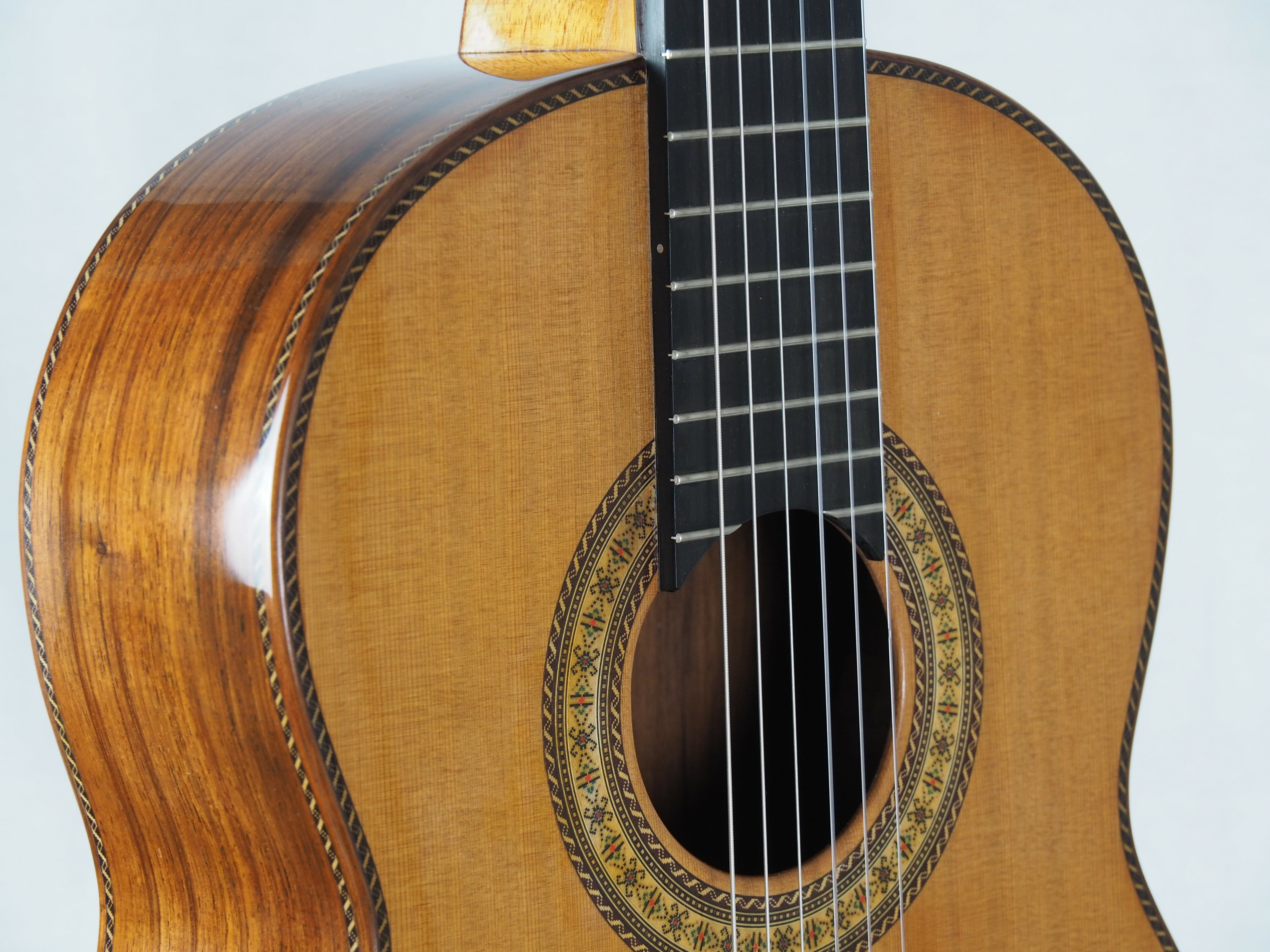 Luthier Dieter Hopf Portentosa Evolucion barrage lattice