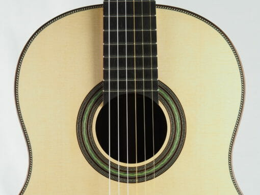 Stanislaw Partyka guitare classique de luthier barrage lattice