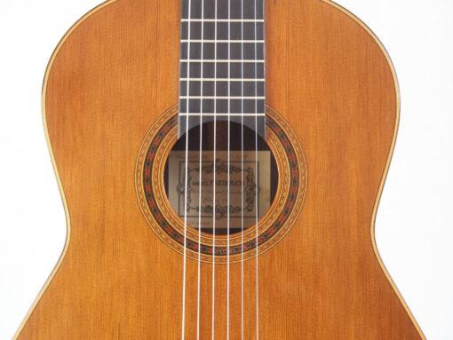 Daniel Friederich luthier guitare classique No 19FRI479-08